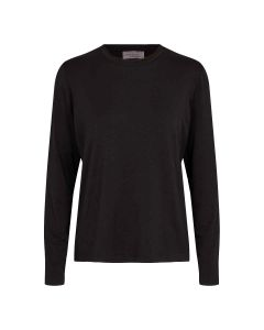 Long sleeve top in a soft quality