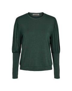 Longsleeve top with high cuffs