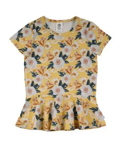 BLOOM T-shirt with skirt and flowers