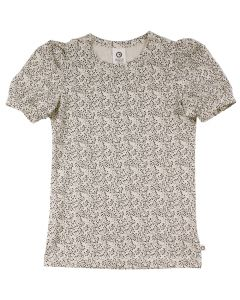 PETIT T-shirt with puff slevees and print