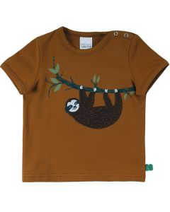 SLOTH T-shirt with embrodery on the front