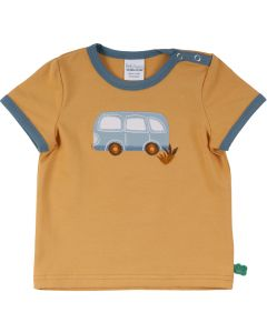 HELLO short sleeve T-shirt with a bus