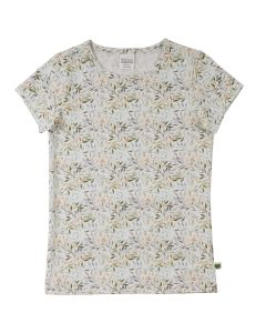 LEAF T-shirt with print of leafs
