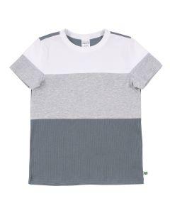 ALFA rib block T-shirt