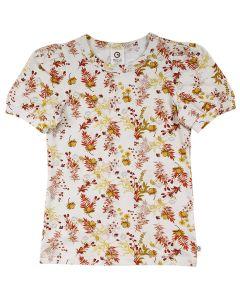 CALENDULA puff sleeve T-shirt