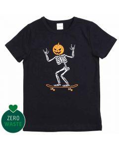 SKELETON T-shirt with skater-skeleton