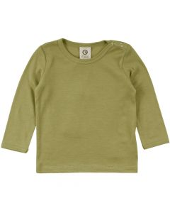 WOOLLY SILK T-shirt in organic wool/silk -BABY