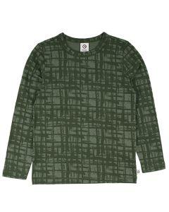 CHECK T-shirt long sleeve