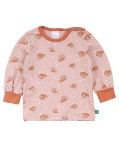 HEDGEHOG bell sleeve T-shirt  -BABY