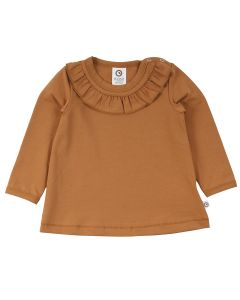 COZY ME longsleeve T-shirt with collar