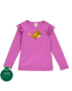 Longsleeve top with bird embrodery