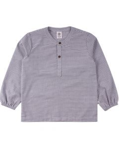 WOVEN long sleeved striped shirt