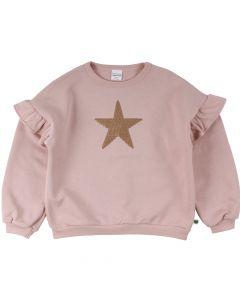 STAR sweatshirt with frills