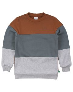 SWEAT-shirt with block colors