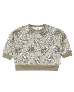 BOOM sweatshirt with flowers