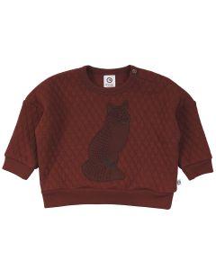 FOX quiltet sweatshirt -BABY