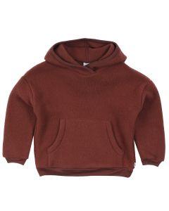 WOOLLY  hoodie in merino wool fleece