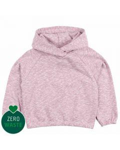 SLUB hoodie in cotton
