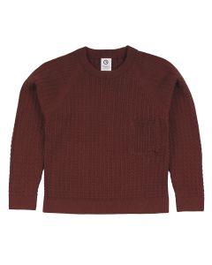 KNIT pocket sweater