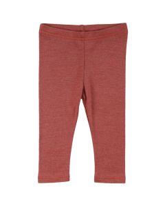 WOOLLY SILK leggings in organic wool/silk -BABY