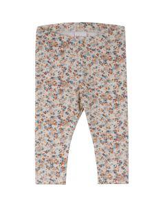 MINI leggings with flowerprint- BABY