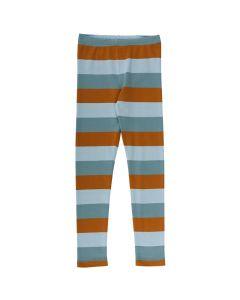 STRIPE leggings in soft cotton