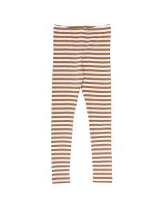STRIPE leggings in organic cotton