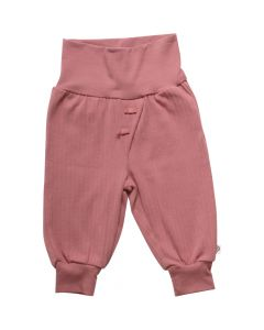 Cozy pants in pure organic cotton