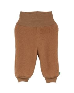 WOOL pants in merino-wool-fleece