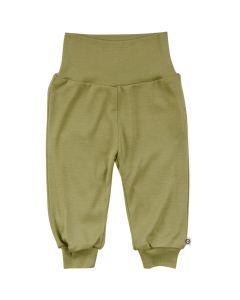 WOOLLY SILK pants in wool/silk