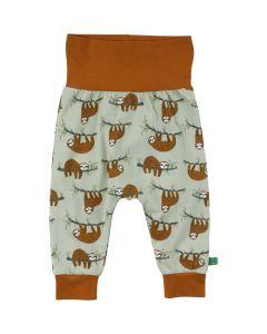 SLOTH pants with print
