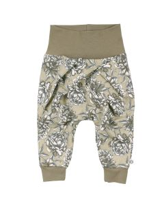 BOOM pants with flowers -BABY