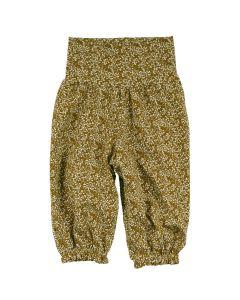 PETIT FLEUR pants with print