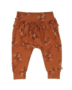 FLORA pants with ruffles