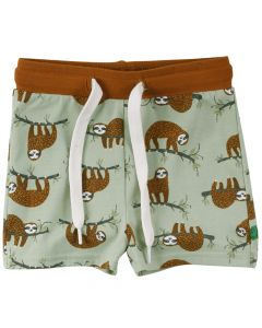 SLOTH shorts with all over print -BABY