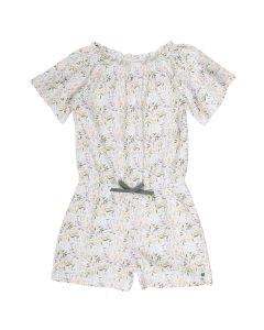 LEAF jumpsuit with short legs and sleeves