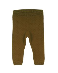 KNIT pants in organic cotton -BABY