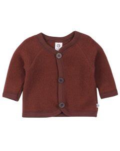 WOOLLY jacket in merino-wool fleece