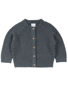 KNIT WEAVE cardigan -BABY