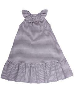 WOVEN stripe dress