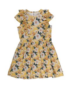 BLOOM dress with flower print