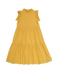 SUNBED dress with frills
