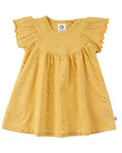 SUNBED dress with print of sunbeds