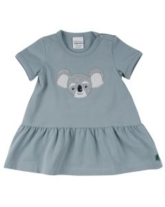 KOALA dress with koala bear on the front