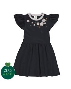 Dress with embrodery