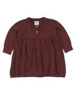 KNIT dress in organic cotton
