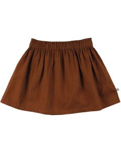 WOVEN skirt in 100 % cotton