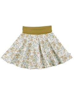 BOTANY skirt with flowers