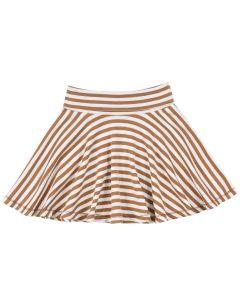 STRIPE skirt in organic cotton