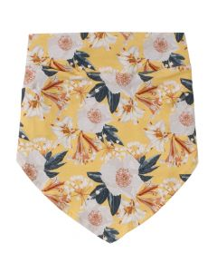BLOOM headscarf with flowers